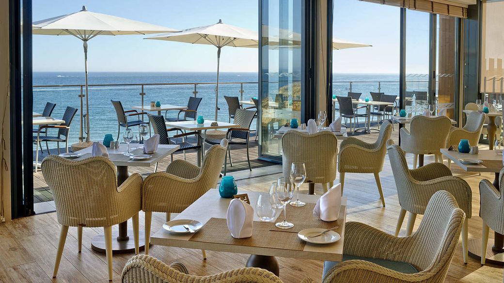 Vista do Bar-Restaurante Pavilhão